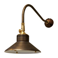 Sea Gull Lighting Signature 1 Light Landscape Light in Weathered Brass 91460-147 photo thumbnail