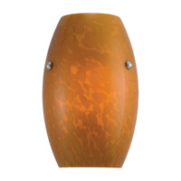 Sea Gull Lighting Butterscotch 1 Light Sconce in Multiple Finishes 94112-6037