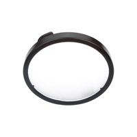 Sea Gull Lighting Ambiance Xenon Disk Light Diffuser Trim in Black 9414-12