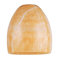 Sea Gull Lighting Ambiance Transitions Amber Onyx Stone Pendant Shade in Amber Onyx Stone 94223-699