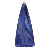 Sea Gull Lighting Ambiance Transitions Blue Rhapsody Pendant Glass in Blue Rhapsody 94353-648