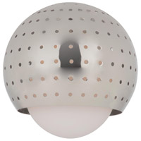 Sea Gull Lighting Ambiance Transitions Space Ball Pendant Glass in Polished Nickel 94380-841