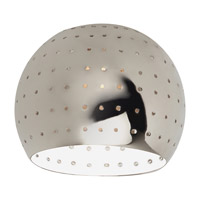 Sea Gull Lighting Ambiance Transitions Space Ball Directional Shade in Polished Nickel 94388-841 photo thumbnail