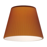 Sea Gull Lighting Ambiance Transitions Glass/Shade in Cased Amber Ribbed 94391-6131