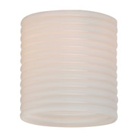 Sea Gull Lighting Ambiance Transitions Conner Directional Glass in Cased Opal Ribbed 94393-6125 photo thumbnail