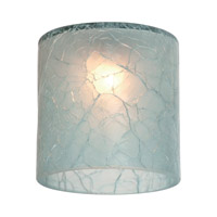 Sea Gull Lighting Ambiance Transitions Glacier Blue Directional Glass in Glacier Blue Crackle 94395-6123