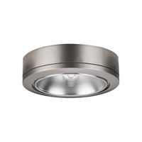 Sea Gull Lighting Ambiance 1 Light Accent Disk Light in Brushed Nickel 9485-962