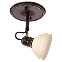Sea Gull Lighting Ambiance Transitions Trenton Directional Mono-Point in Antique Bronze / Dusted Ivory 94883-71