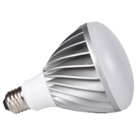 Sea Gull BR30 Medium Base 15W 120V LED Light Bulb in 4000K with 120 Degree Beam 97520S