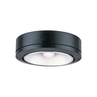 Sea Gull Lighting Ambiance 1 Light Accent Disk Light in Black 9858-12