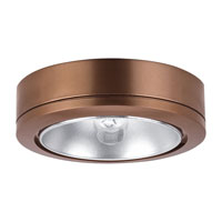 Sea Gull Lighting Ambiance Disk 1 Light Accent Disk Light in Cinnamon 9858-742