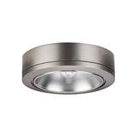 Sea Gull Lighting Ambiance 1 Light Accent Disk Light in Brushed Nickel 9858-962
