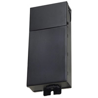 Ambiance Self-Contained 24V DC LED Black Hardwire Transformer