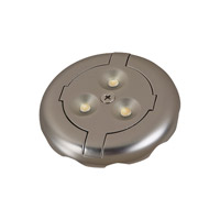 Sea Gull Lighting Ambiance LED Disk 12V LED Disk Light 3000K in Tinted Aluminum 98860SW-986