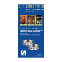 Sea Gull Lighting Ambiance 2 Light Accent Disk Light in Brushed Nickel 9888-962