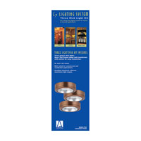 Sea Gull Lighting Ambiance 3 Light Xenon Disk Kit in Cinnamon 9889-742