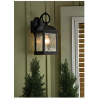 Sea Gull 88190-802 Branford 1 Light 14 inch Obsidian Mist Outdoor Wall Lantern alternative photo thumbnail