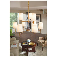 Sea Gull 3140409-848 Driscoll 9 Light 32 inch Satin Bronze Chandelier Ceiling Light in Standard alternative photo thumbnail