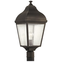 Sea Gull OL4007ORB Terrace 1 Light 23 inch Oil Rubbed Bronze Post Lantern in Standard