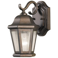 Sea Gull OL5900CB Martinsville 1 Light 11 inch Corinthian Bronze Outdoor Wall Sconce in Standard