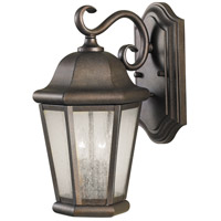 Sea Gull OL5901CB Martinsville 2 Light 15 inch Corinthian Bronze Outdoor Wall Sconce