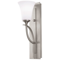 Sea Gull VS12701-BS Barrington 1 Light 5 inch Brushed Steel Vanity Strip Wall Light