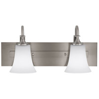 Sea Gull VS12702-BS Barrington 2 Light 18 inch Brushed Steel Vanity Strip Wall Light