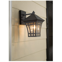 Sea Gull 88132-12 Herrington 1 Light 12 inch Black Outdoor Wall Lantern alternative photo thumbnail