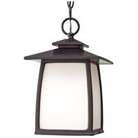 Sea Gull OL8511EN3/ORB Wright House 1 Light 8 inch Oil Rubbed Bronze Outdoor Pendant Lantern