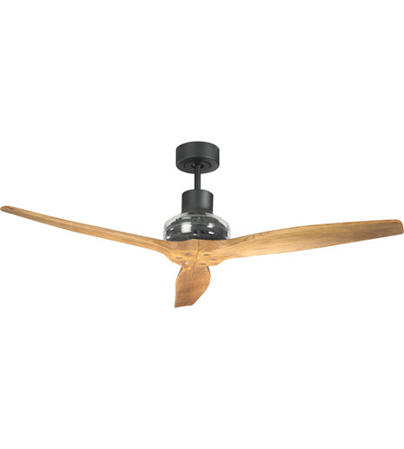 Star Fans 7176 Star Propeller 52 inch Black with Natural I Blades Indoor Ceiling Fan, Real Wood Blades photo thumbnail
