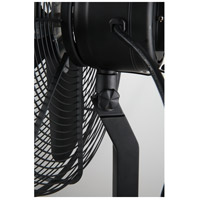 Star Fans 7640 Star Tripod Matte Black 53 inch Pedestal Fan, 16-inch Die-Cast, Oscillating, Adjustable Tilt, 3-Speed alternative photo thumbnail