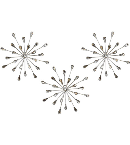 Wall Sculptures Multi Stratton Home Decor S02380 Acrylic Burst Wall Decor Set Of 3 10 00 W X 1 50 D X 30 00 H Home Kitchen