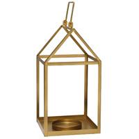 Stratton Home Decor S21039 Signature 8 inch Gold Lantern