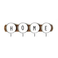Stratton Home Decor S21059 Signature 9 inch Multi Wall Coat Rack