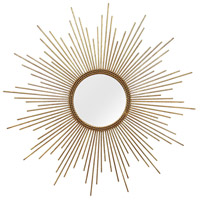Signature 26 X 26 inch Gold Wall Mirror