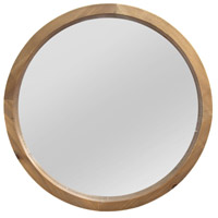 Signature 20 X 20 inch Light Natural Wood Wall Mirror