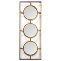 Signature 40 X 15 inch Antique Gold Wall Mirror