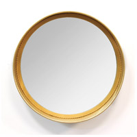 Signature 17 X 17 inch Grey and Gold Wall Mirror