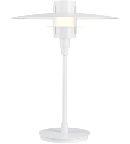 Sonneman Lighting Aereo 1 Light Table Lamp in Satin White 1706.03F photo