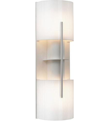 Sonneman Lighting Oberon 2 Light Sconce in Satin White 1712.03AF photo