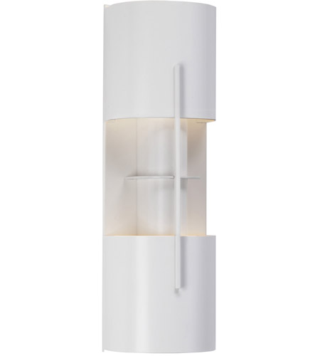 Sonneman 1712.03LF Oberon 2 Light 6 inch Satin White ADA Sconce Wall Light photo