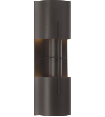 Sonneman 1712.32LF Oberon 2 Light 6 inch Black Bronze ADA Sconce Wall Light photo