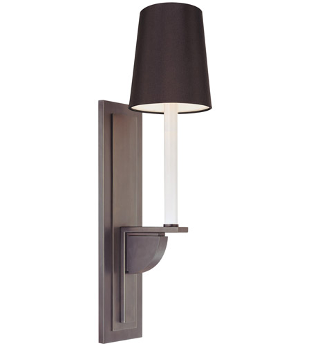 Sonneman 1811.24K Delgado 1 Light 5 inch Rubbed Bronze Sconce Wall Light photo