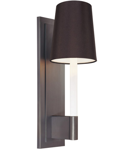 Sonneman Sottile 1 Light Sconce in Rubbed Bronze 1812.24K photo