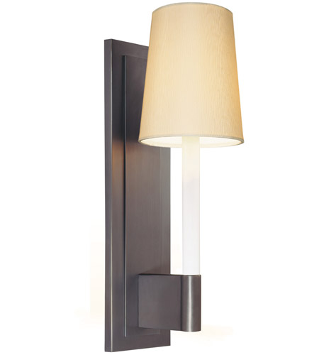 Sonneman Sottile 1 Light Sconce in Rubbed Bronze 1812.24W photo