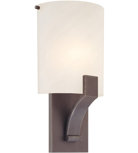 Sonneman Greco 1 Light Sconce in Rubbed Bronze 1851.24 photo