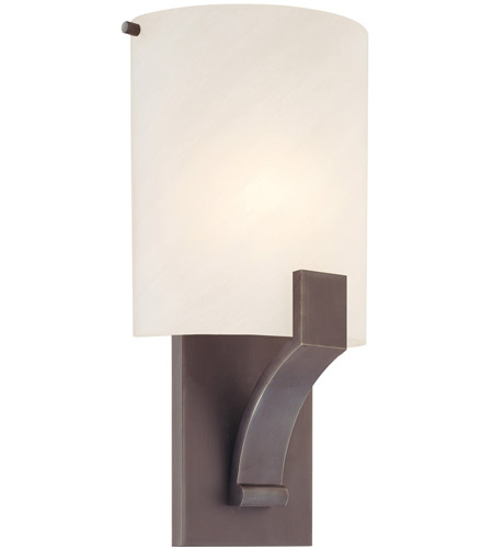 Sonneman Greco 1 Light Sconce in Rubbed Bronze 1851.24F photo