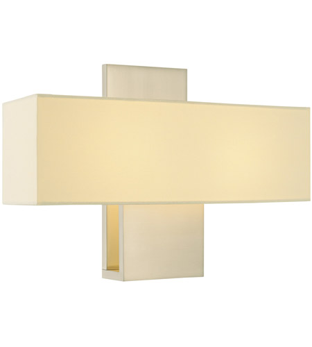 Sonneman Ombra 1 Light Sconce in Satin Nickel 1861.13F photo