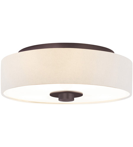 Sonneman Lighting Rollo 3 Light Surface Mount in Rubbed Bronze 1874.24OL photo