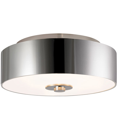 Sonneman Lighting Rollo 3 Light Surface Mount in Polished Nickel 1874.35 photo